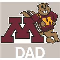 Minnesota Golden Gophers Transfer Decal - Dad