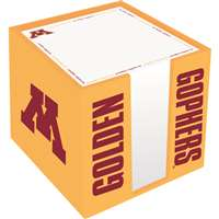 Minnesota Golden Gophers Cube Note Card Holder