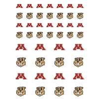 Minnesota Golden Gophers Small Sticker Sheet - 2 Sheets