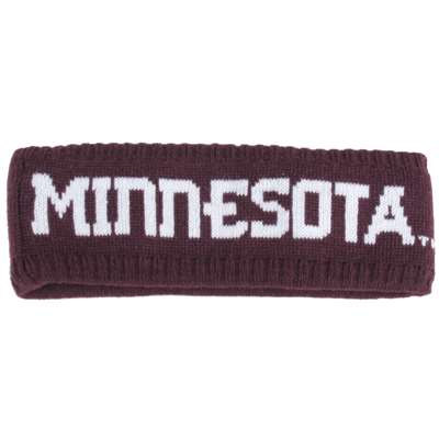 Minnesota Golden Gophers Zephyr Women's Halo Knit Headband