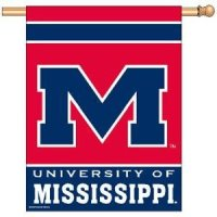 Ole Miss Banner - 27 X 37 Inches