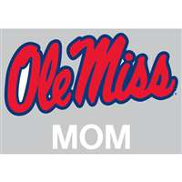 Mississippi Ole Miss Rebels Transfer Decal - Mom
