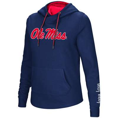 decdf27c7 Mississippi Ole Miss Rebels Women's Colosseum Crossover Neck Hoodie