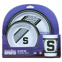 Michigan State Spartans Little Sport's Dish Set