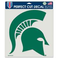 "Michigan State Spartans Full Color Die Cut Decal - 8"" X 8"""