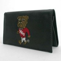 Mississippi State Embroidered Leather Wallet