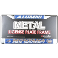Montana State Bobcats Alumni Metal License Plate Frame W/domed Insert