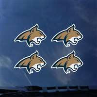 Montana State Bobcats Transfer Decals - Set of 4