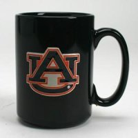 Auburn 15oz Black Ceramic Mug