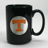 Tennessee 15oz Black Ceramic Mug