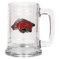 Arkansas 16oz Glass Tankard
