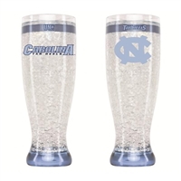 North Carolina - 16oz Flared Pilsner Freezer Glass