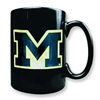 Michigan 15oz Black Ceramic Mug