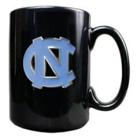 North Carolina 15oz Black Ceramic Mug