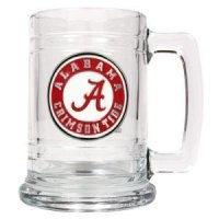 Alabama 16oz Glass Tankard