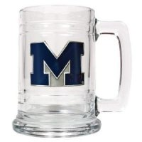 Michigan 16oz Glass Tankard