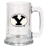 Byu 16oz Glass Tankard