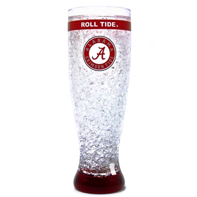 Alabama Crimson Tide - 16oz Flared Pilsner Freezer Glass