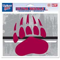 "Montana Grizzlies Ultra Decals 5"" X 6"""