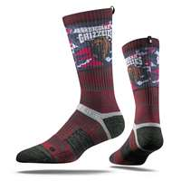 Montana Grizzlies Strideline Strapped Fit 2.0 Socks - Maroon