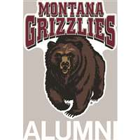 Montana Grizzlies Transfer Decal - Alumni