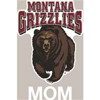 Montana Grizzlies Transfer Decal - Mom