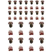 Montana Grizzlies Small Sticker Sheet - 2 Sheets