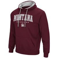 Montana Grizzlies Colosseum Zone III Hoodie - Arch