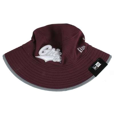 Montana Grizzlies New Era Training Bucket Hat - Maroon