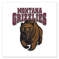 Montana Grizzlies Temporary Tattoo - 4 Pack
