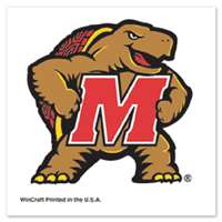 Maryland Terrapins Temporary Tattoo - 4 Pack