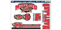 Maryland Terrapins Ultra Decal Set - 11'' X 17''