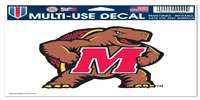 "Maryland Terrapins Ultra Decal 5"" x 6"""