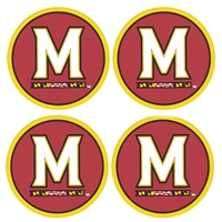 Maryland Terrapins Coaster Set - 4 Pack