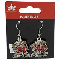 Maryland Terrapins Dangler Earrings