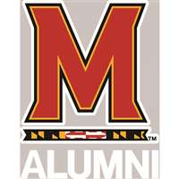 Maryland Terrapins Transfer Decal - Alumni