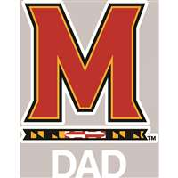 Maryland Terrapins Transfer Decal - Dad
