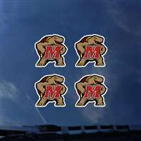 Maryland Terrapins Transfer Decals - Set of 4