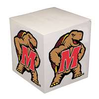 Maryland Terrapins Sticky Note Memo Cube - 550 Sheets