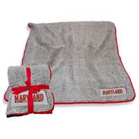 Maryland Terrapins Frosty Fleece Blanket