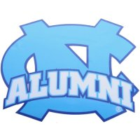North Carolina Tar Heels Decal - Alumni Over Nc Logo