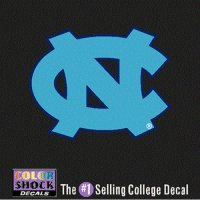 North Carolina Tar Heels Decal - Nc Logo