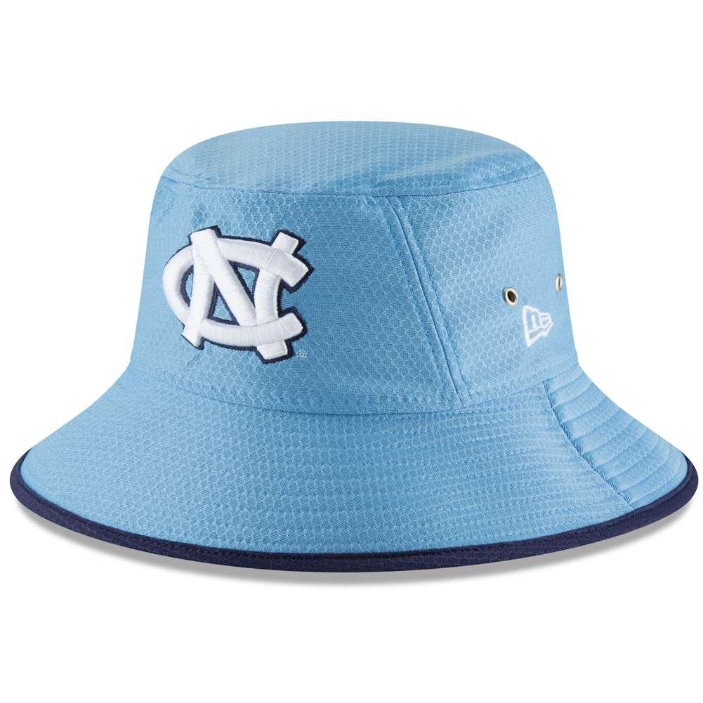 North Carolina Tar Heels New Era Hex Bucket Hat - Light Blue 9fe0516735c