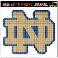 Notre Dame Fighting Irish Perforated Vinyl Window Decal