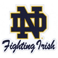 Notre Dame Fighting Irish Die-Cut Transfer Decal