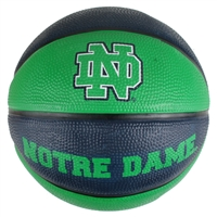 Notre Dame Fighting Irish Mini Rubber Basketball