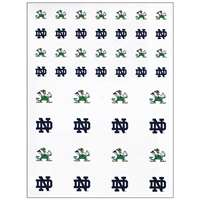Notre Dame Fighting Irish Small Sticker Sheet - 2 Sheets