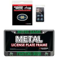 Notre Dame Fighting Irish 3 Piece Automotive Fan Kit