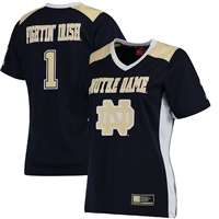 Notre Dame Women's Football Jersey - Navy #1