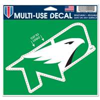 North Dakota Fighting Hawks Multi Use Perfect Cut Decal